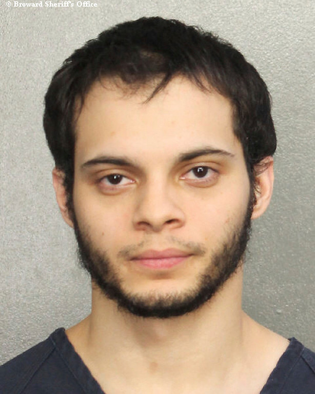 . This booking photo provided by the Broward Sheriff\'s Office shows suspect Esteban Ruiz Santiago, 26, Saturday, Jan. 7, 2017, in Fort Lauderdale, Fla. Relatives of the man who police say opened fire Friday killing several people and wounding others at a Florida airport report he had a history of mental health issues. They tell The Associated Press and other news outlets that some of the problems followed his time serving a military tour in Iraq, and that he was being treated at his current home in Alaska. (Broward Sheriff\'s Office via AP)