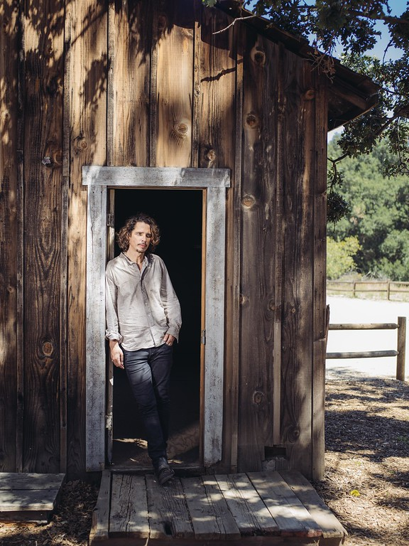 """. In this July 29, 2015 photo, Chris Cornell poses for a portrait to promote his latest album, \""""Higher Truth,\"""" at The Paramount Ranch in Agoura Hills, Calif. (Photo by Casey Curry/Invision/AP)"""