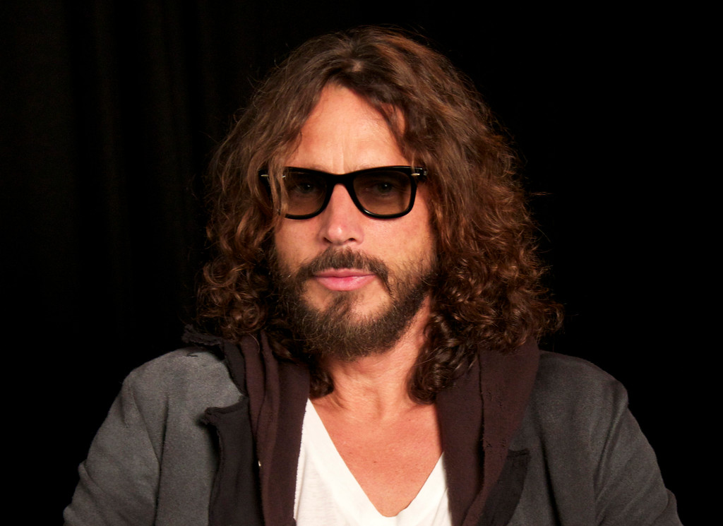 . FILE - In this Sept. 23, 2011, file photo, musician Chris Cornell is shown in New York. According to his representative, rocker Chris Cornell, who gained fame as the lead singer of Soundgarden and later Audioslave, has died Wednesday night in Detroit at age 52. (AP Photo/John Carucci, File)