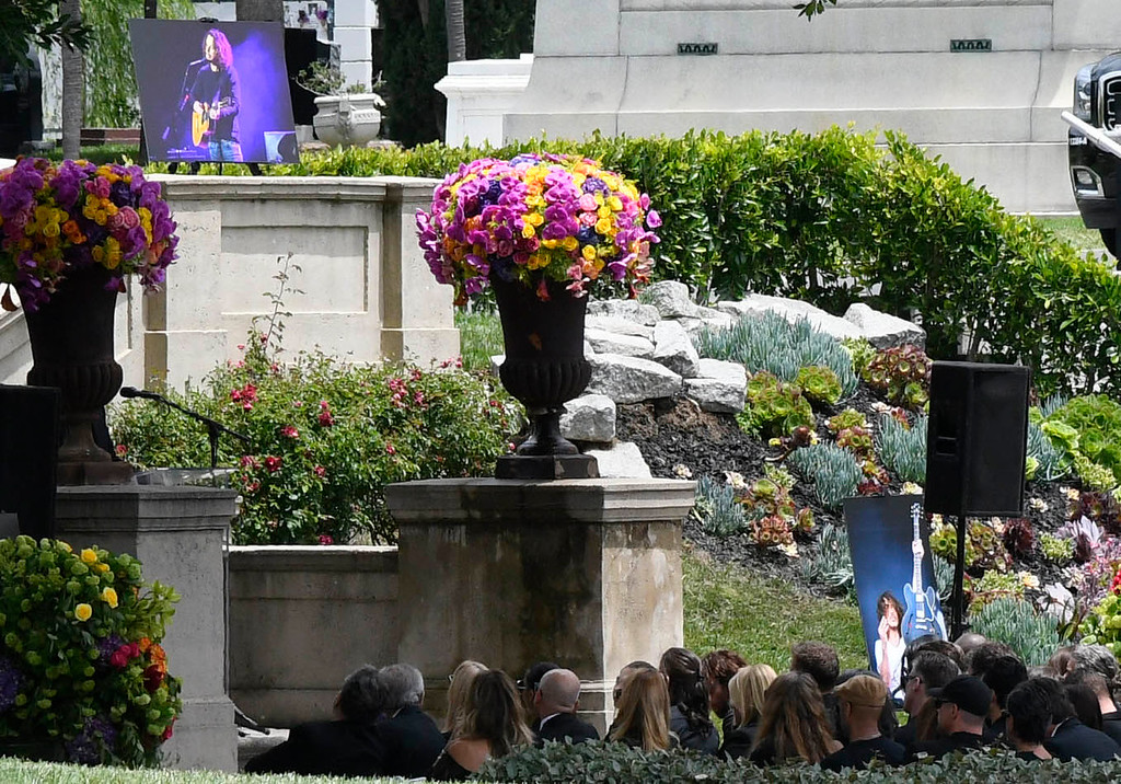 . A memorial service is being held at Hollywood Forever Cemetary for Chris Cornell, the iconic rocker who hanged himself in a Detroit hotel room earlier this month. Los Angeles, CA. 5/26/2017 Photo by John McCoy/Los Angeles Daily News (SCNG)