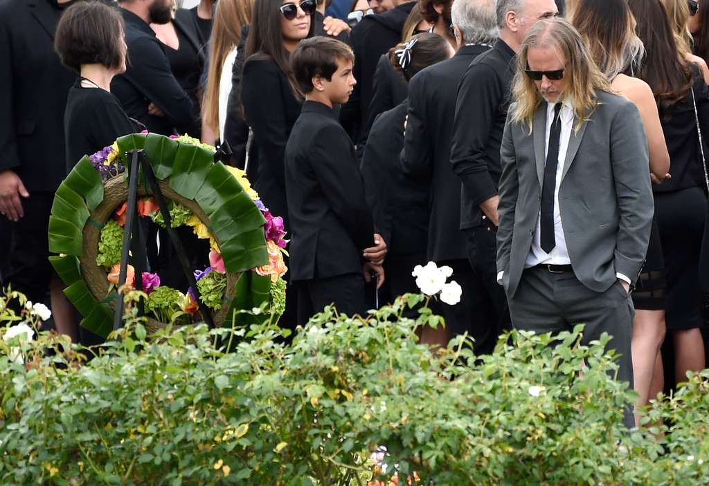 . Jerry Cantrell attends a funeral for Chris Cornell at the Hollywood Forever Cemetery on Friday, May 26, 2017, in Los Angeles. (Photo by Chris Pizzello/Invision/AP)