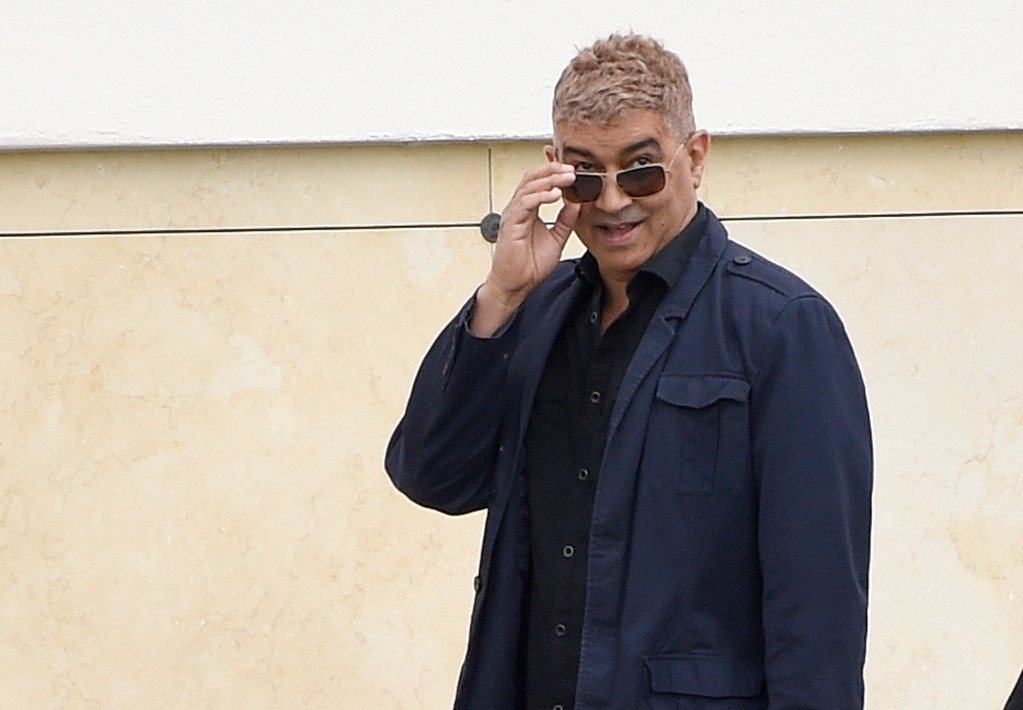 . Guitarist Pat Smear attends a funeral for Chris Cornell at the Hollywood Forever Cemetery on Friday, May 26, 2017, in Los Angeles. (Photo by Chris Pizzello/Invision/AP)
