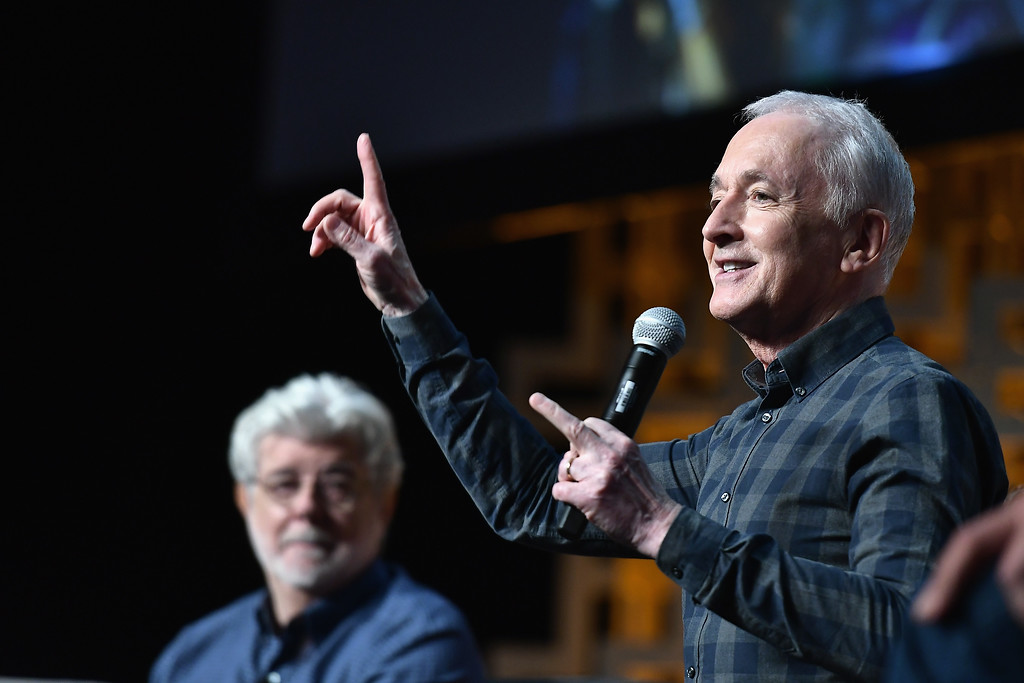. ORLANDO, FL - APRIL 13:  Anthony Daniels attends the Star Wars Celebration Day 1 on April 13, 2017 in Orlando, Florida.  (Photo by Gustavo Caballero/Getty Images)