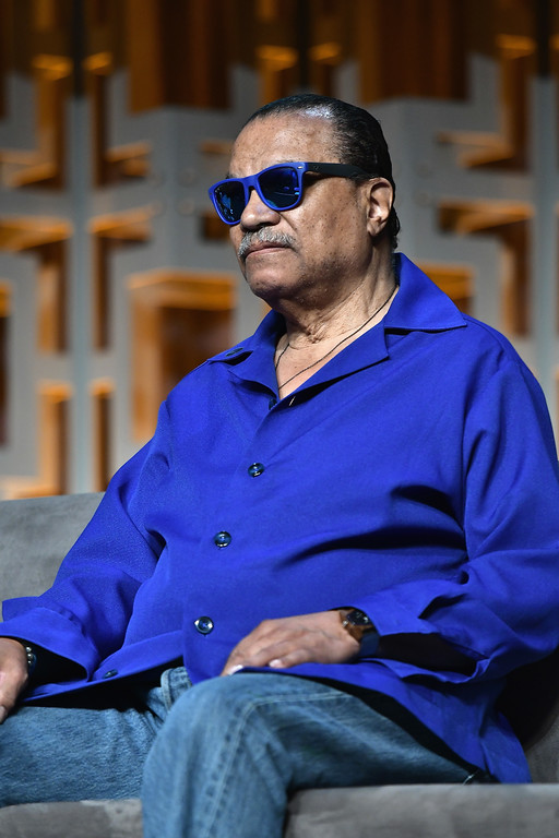 . ORLANDO, FL - APRIL 13:  Billy Dee Williams attends the Star Wars Celebration Day 1 on April 13, 2017 in Orlando, Florida.  (Photo by Gustavo Caballero/Getty Images)