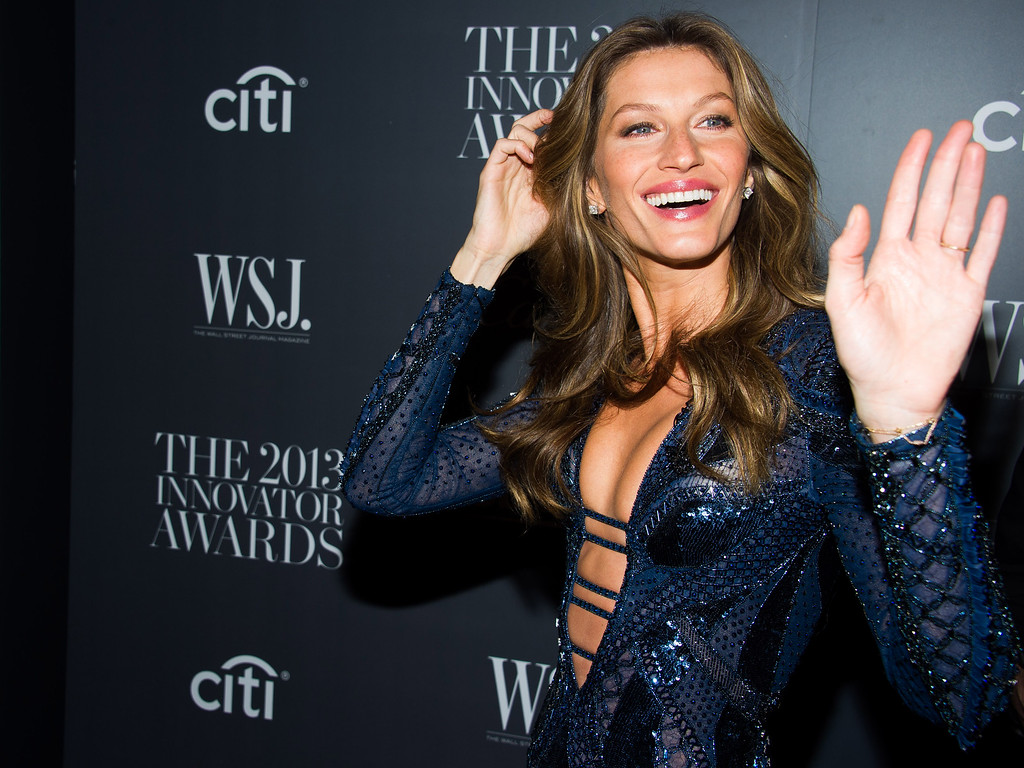 . Gisele Bundchen attends the WSJ. Magazine\'s Innovator Awards on Wednesday, Nov. 6, 2013 in New York. (Photo by Charles Sykes/Invision/AP)