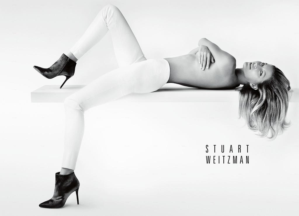 . Stuart Weitzman Announces Gisele Bundchen as the New Face of Its Fall 2014 Campaign. (PRNewsFoto/Stuart Weitzman)