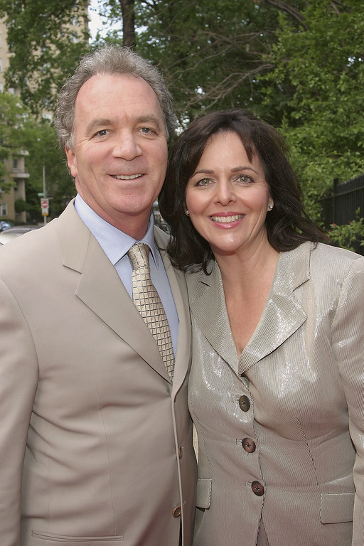 . NEW YORK - MAY 20:  Producer Ken Corday and his wife attend the Reception For The 31st Annual Daytime Emmy Awards Hosted By Mayor Bloomberg at the Gracie Mansion on May 20, 2004 in New York City. (Photo by Thos Robinson/Getty Images)