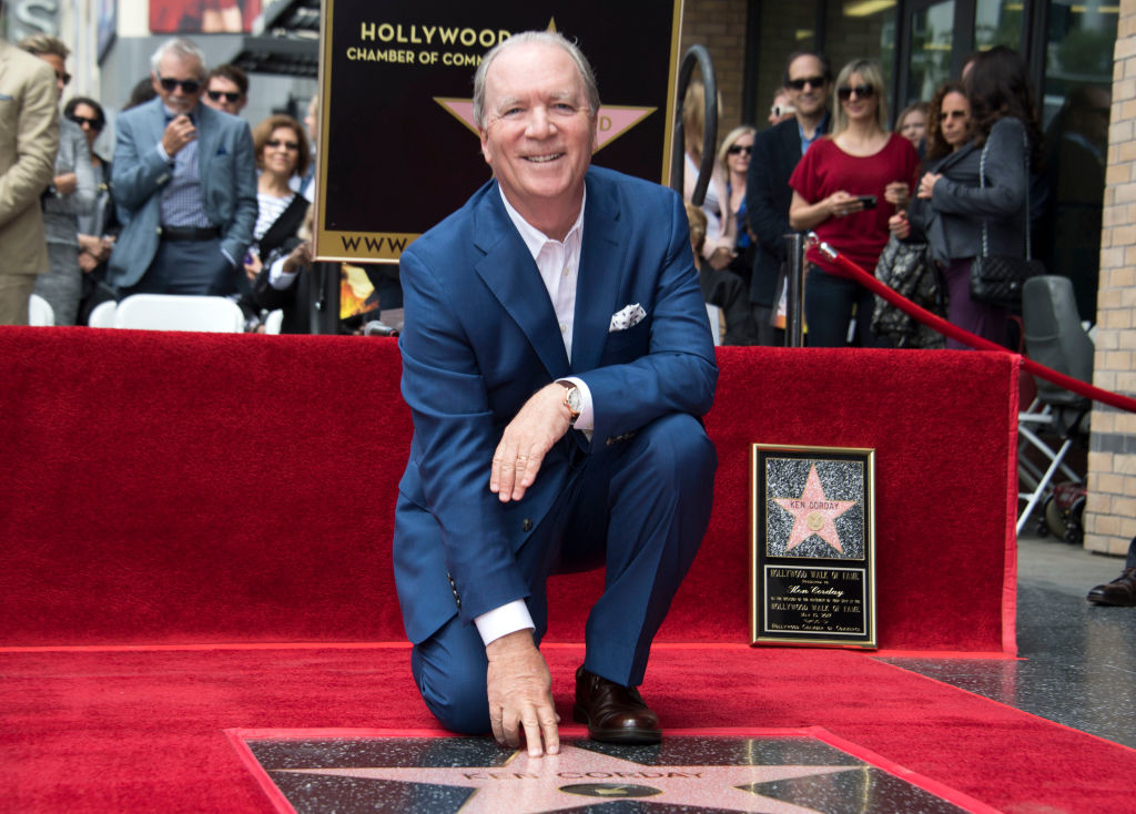 . Producer Ken Corday attends the ceremony honoring him with a Star on the Hollywood Walk of Fame, on May 10, 2017, in Hollywood, California. (VALERIE MACON/AFP/Getty Images)