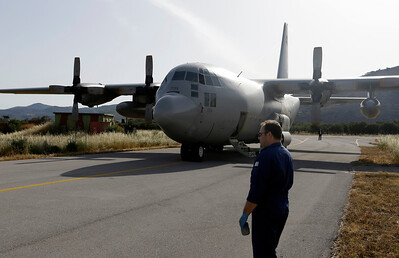 Greece Egypt Plane