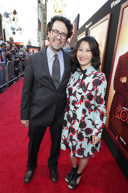 ". Director/Writer/Producer Andrew Jay Cohen and Crystal Li seen at New Line Cinema Presents ""The House\"" Los Angeles Premiere at TCL Chinese Theatre on Monday, June 26, 2017, in Hollywood, CA. (Photo by Eric Charbonneau/Invision for Warner Bros./AP Images)"