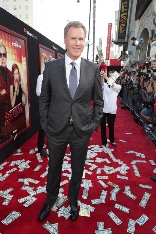 ". Producer/Actor Will Ferrell seen at New Line Cinema Presents ""The House\"" Los Angeles Premiere at TCL Chinese Theatre on Monday, June 26, 2017, in Hollywood, CA. (Photo by Eric Charbonneau/Invision for Warner Bros./AP Images)"