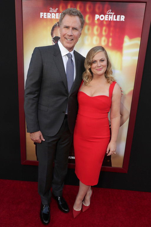 ". Producer/Actor Will Ferrell and Amy Poehler seen at New Line Cinema Presents ""The House\"" Los Angeles Premiere at TCL Chinese Theatre on Monday, June 26, 2017, in Hollywood, CA. (Photo by Eric Charbonneau/Invision for Warner Bros./AP Images)"