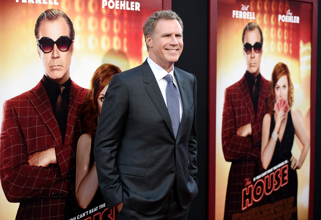 ". Will Ferrell, a cast member in ""The House,\"" poses at the premiere of the film at the TCL Chinese Theatre on Monday, June 26, 2017, in Los Angeles. (Photo by Chris Pizzello/Invision/AP)"