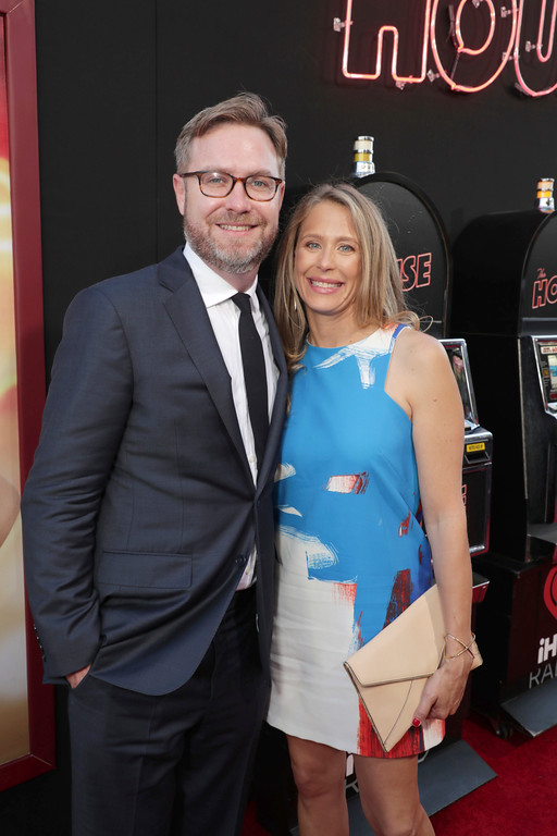 ". Writer/Producer Brendan O\'Brien and Amanda Headrick seen at New Line Cinema Presents ""The House\"" Los Angeles Premiere at TCL Chinese Theatre on Monday, June 26, 2017, in Hollywood, CA. (Photo by Eric Charbonneau/Invision for Warner Bros./AP Images)"