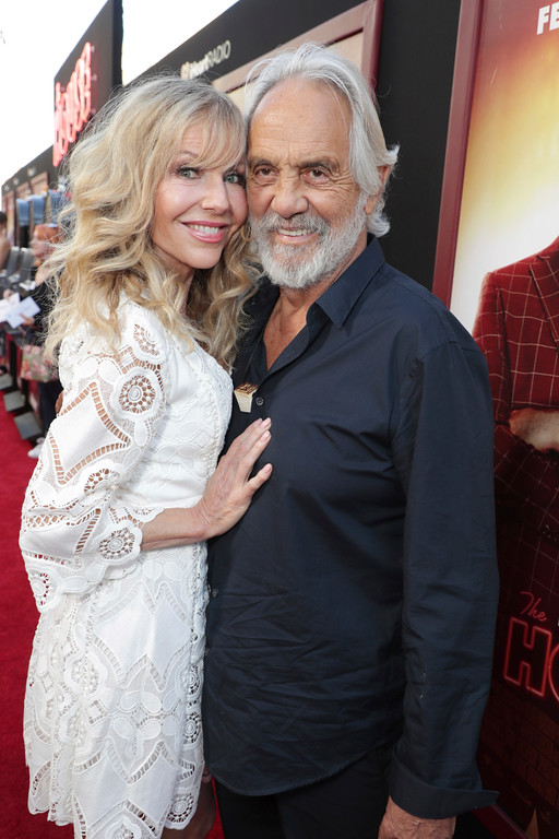 ". Shelby Chong and Tommy Chong seen at New Line Cinema Presents ""The House\"" Los Angeles Premiere at TCL Chinese Theatre on Monday, June 26, 2017, in Hollywood, CA. (Photo by Eric Charbonneau/Invision for Warner Bros./AP Images)"