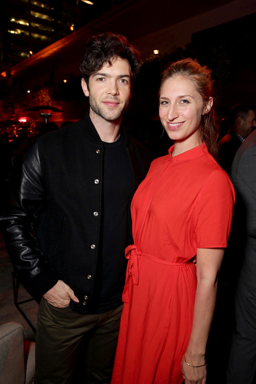 """. Ethan Peck and Molly seen at Open Road Films US Premiere of \""""The Promise\"""" at TCL Chinese Theatre on Wednesday, April 12, 2017, in Los Angeles. (Photo by Eric Charbonneau/Invision for Open Road Films/AP Images)"""