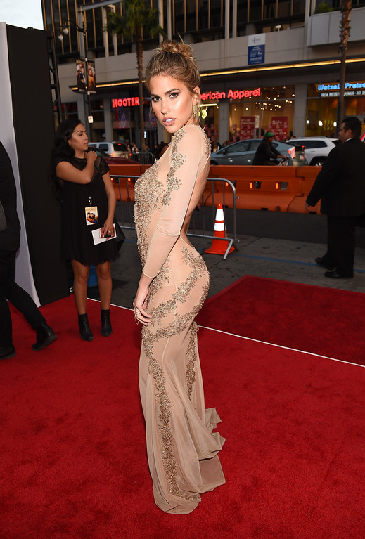 """. HOLLYWOOD, CA - APRIL 12:  Kara Del Toro attends the premiere of Open Road Films\' \""""The Promise\"""" at TCL Chinese Theatre on April 12, 2017 in Hollywood, California.  (Photo by Kevork Djansezian/Getty Images)"""