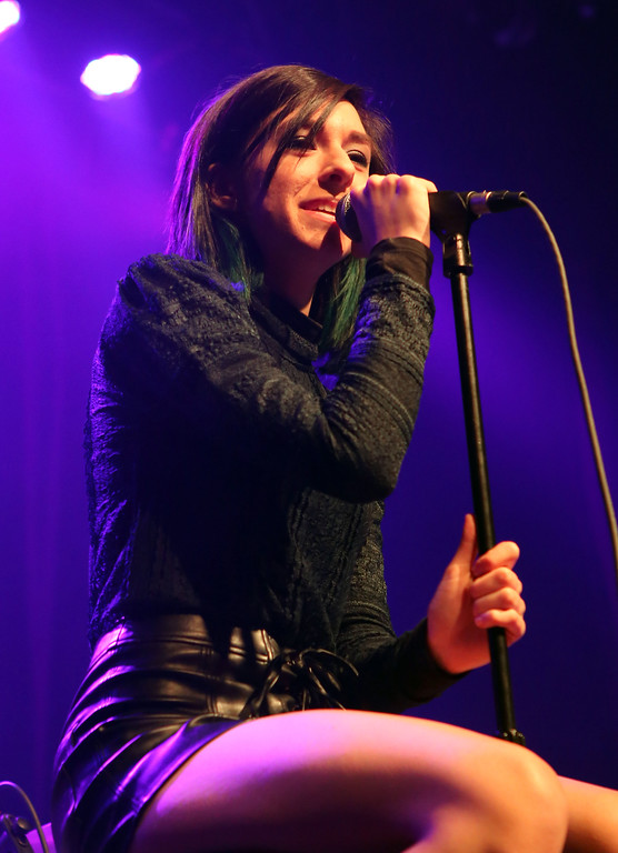 . File - Christina Grimmie performs as the opener for Rachel Platten at Center Stage Theater on Wednesday, March 2, 2016, in Atlanta. (Photo by Katie Darby/Invision/AP)