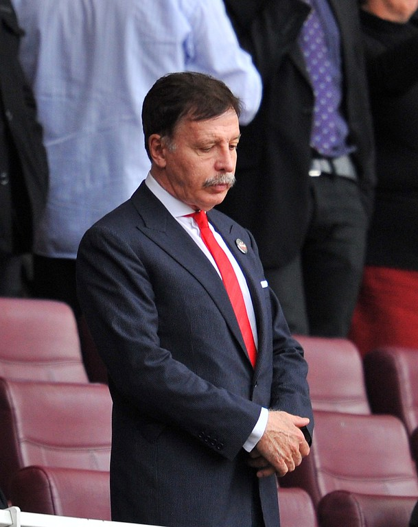 . <b>No. 8 Stan Kroenke<br/> Title: Owner, St. Louis Rams - Age: 67</b> <br/>Should he return his franchise to L.A. after a 20-year hiatus, Kroenke would massively alter the city�s sports landscape.  (GLYN KIRK/AFP/Getty Images)