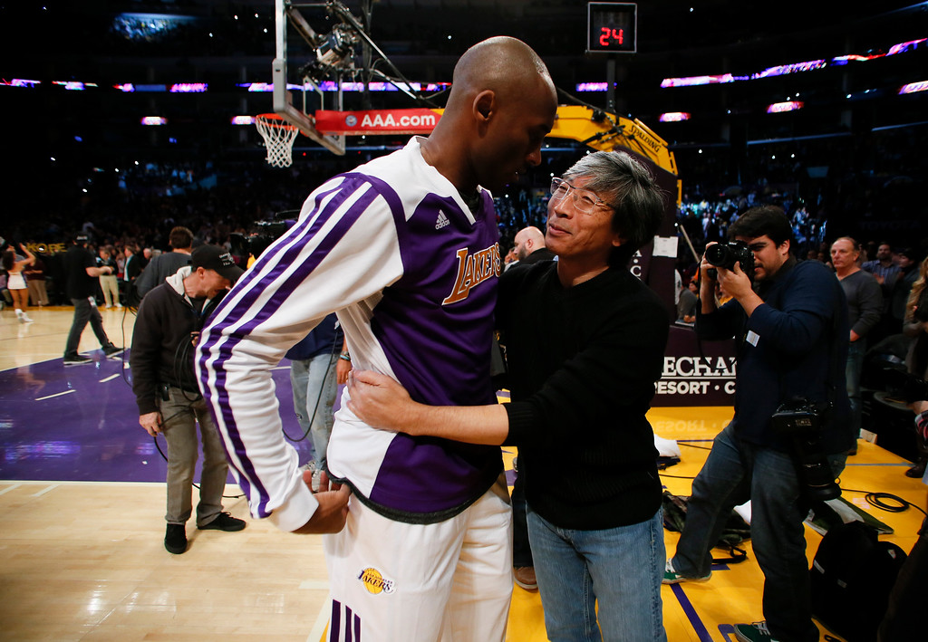 . <b>No. 46 Patrick Soon-Shiong<br/> Title: Doctor, Lakers Minority Owner - Age: 62</b> <br/>The most wealthy person in Los Angeles - Soon-Shiong has a net worth of $12.2 billion - is a minority owner of the Lakers and the city�s most prime candidate to purchase a professional sports franchise, were one to come available.   (AP Photo/Danny Moloshok)