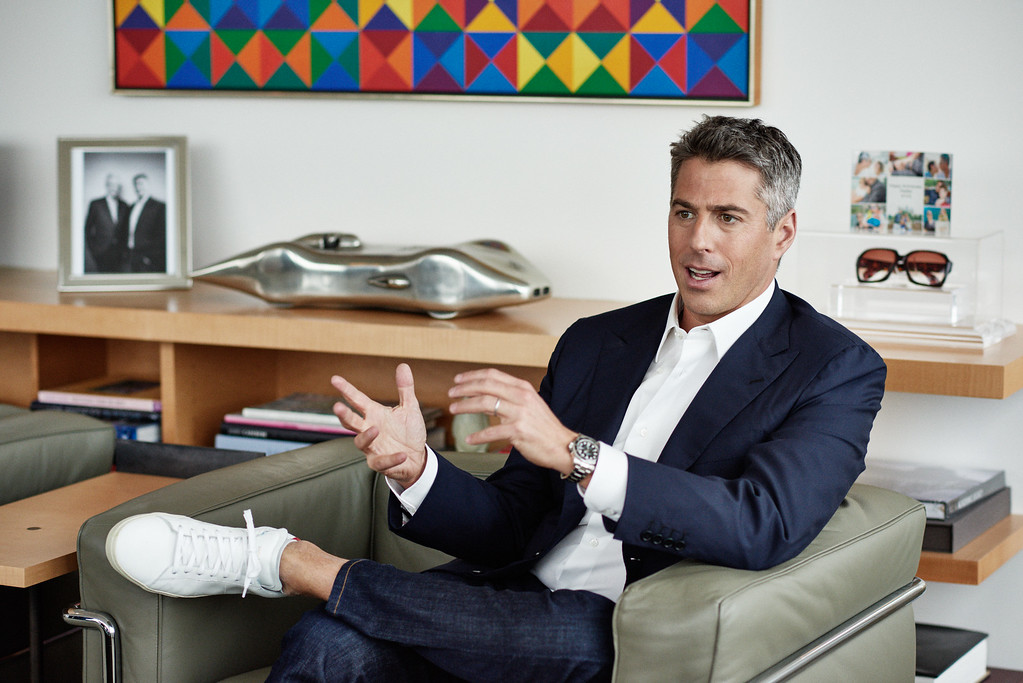 . <b>No. 1 Casey Wasserman<br/> Title: Founder and CEO, Wasserman Media Group - Age: 40</b> <br/>The grandson of a Hollywood mogul has long since made his own mark in this town.   (Photo by Rainer Hosch)