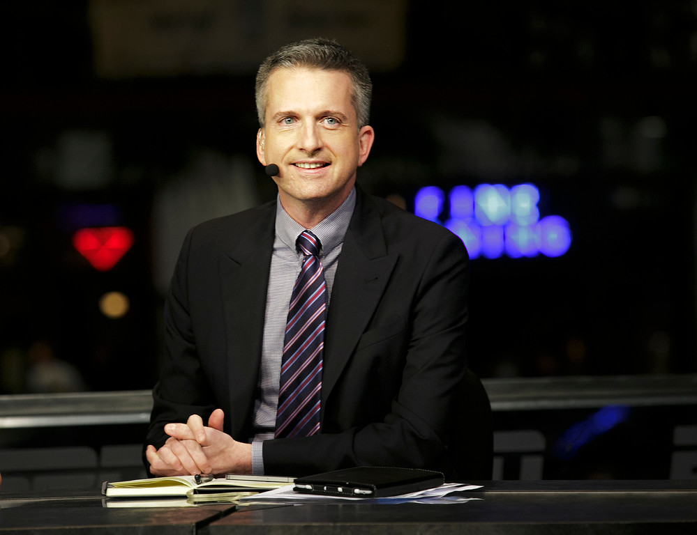 . <b>No. 36 Bill Simmons<br/> Title: Editor-in-chief, Grantland.com - Age: 45</b> <br/>Since making Los Angeles his home, one of the pioneers of online sports journalism has extended his influence to film, television and the book shelves.  (AP Photo/ESPN Images, Don Juan Moore)