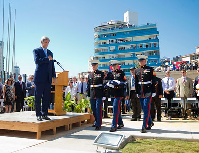 U.S. raises flag over embassy in Cuba