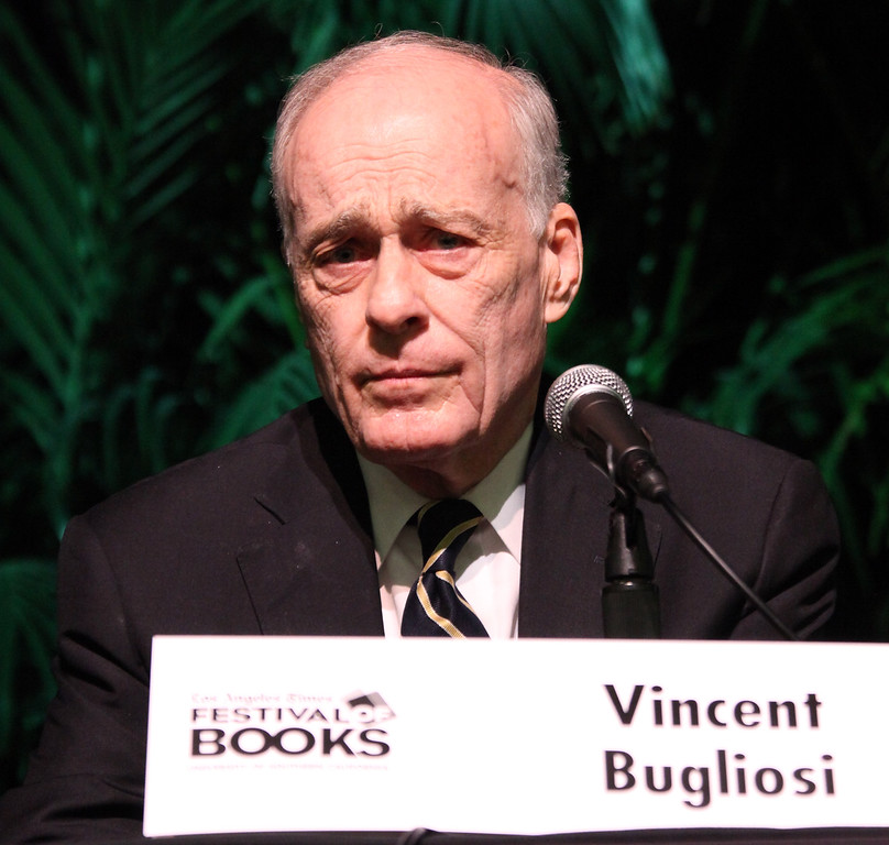 . Writer Vincent Bugliosi attends the 16th Annual Los Angeles Times Festival of Books - Day 2 at USC on May 1, 2011 in Los Angeles, California.  (Photo by David Livingston/Getty Images)