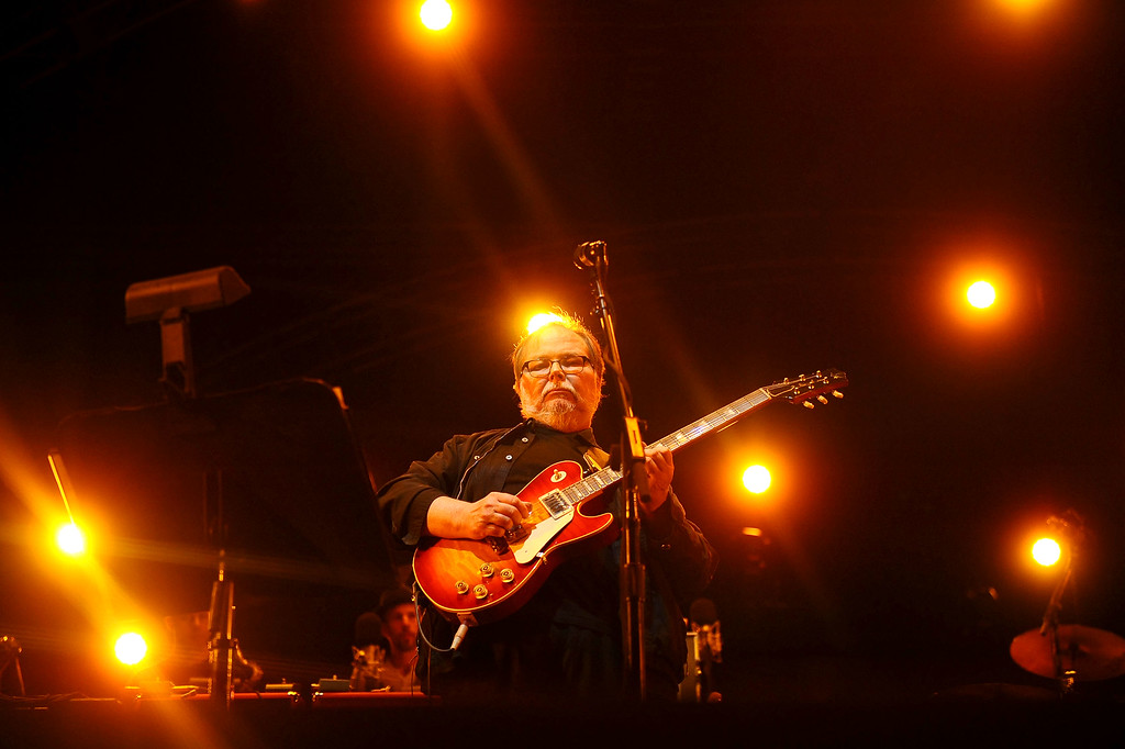 . Walter Becker of Steely Dan performs during the Coachella Valley Music and Arts Festival in Indio, CA Friday, April 10, 2015. (Andy Holzman/Inland Valley Daily Bulletin)