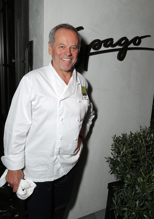 """. Chef Wolfgang Puck seen at Warner Bros. Picture\'s Los Angeles Premiere of \""""The Judge\"""" held at Samuel Goldwyn Theatre, AMPAS on Wed, Oct 1, 2014, in Los Angeles. (Photo by Eric Charbonneau/Invision for Warner Bros./AP Images)"""