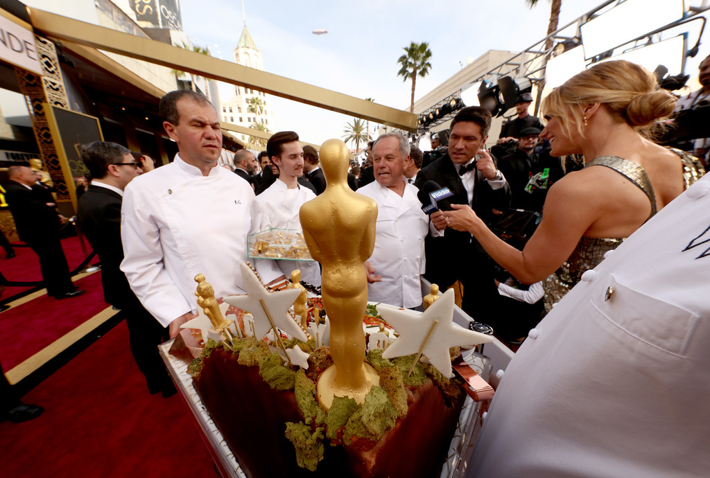 . HOLLYWOOD, CA - FEBRUARY 28:  Wolfgang Puck attends the 88th Annual Academy Awards at Hollywood & Highland Center on February 28, 2016 in Hollywood, California.  (Photo by Christopher Polk/Getty Images)
