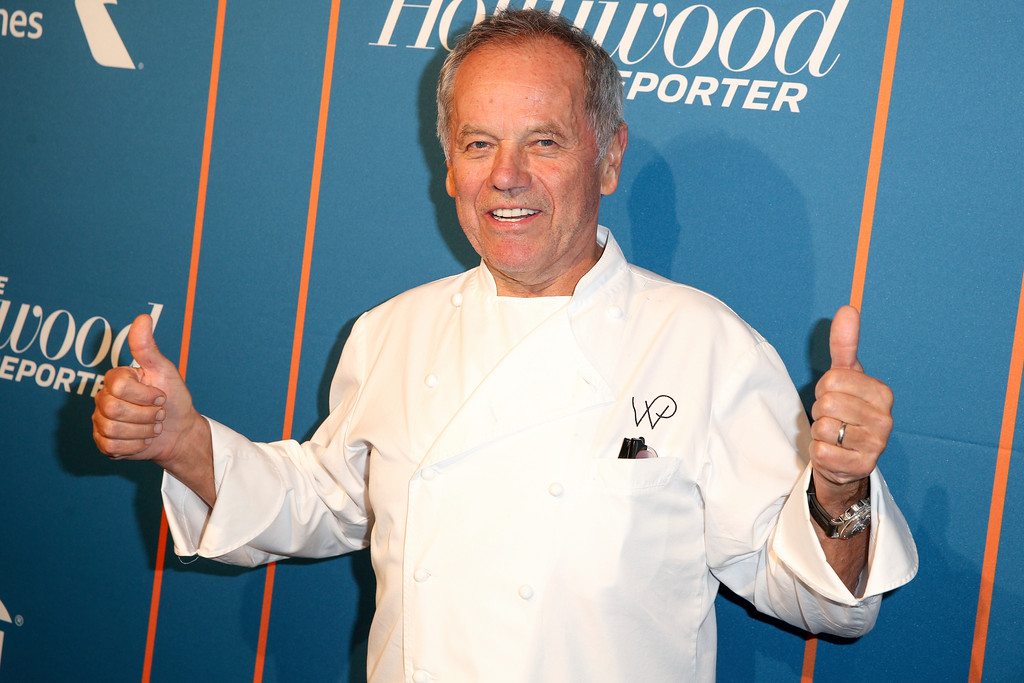 . Wolfgang Puck arrives at The Hollywood Reporter\'s 2017 Academy Awards Nominees Night at Spago on Monday, Feb. 6, 2017, in Beverly Hills, Calif. (Photo by Rich Fury/Invision/AP)