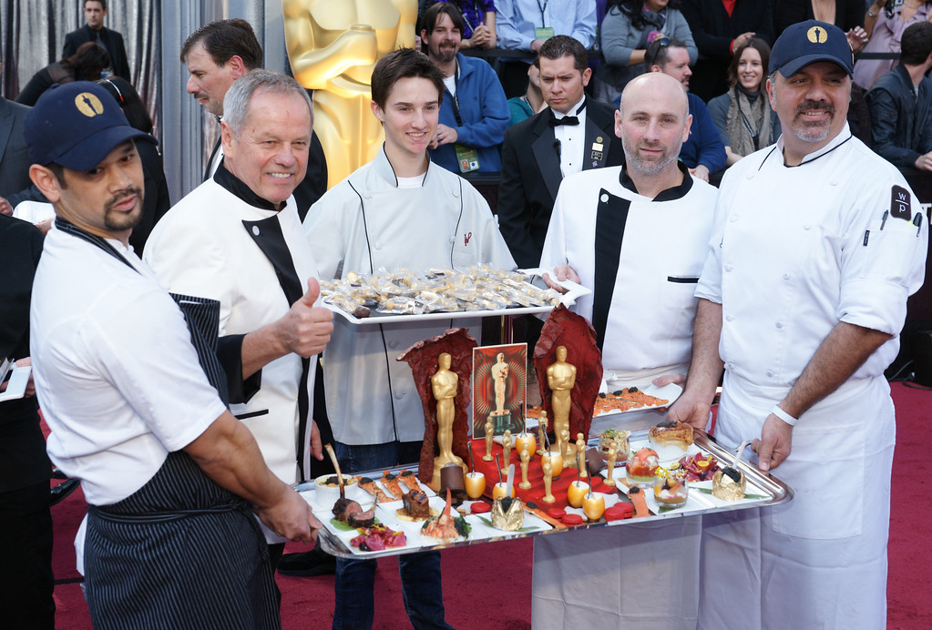 . Wolfgang Puck at the 84th Annual Academy Awards at the Kodak Theatre in Hollywood, California on February 26, 2012. ( David Crane, Los Angeles Daily News)