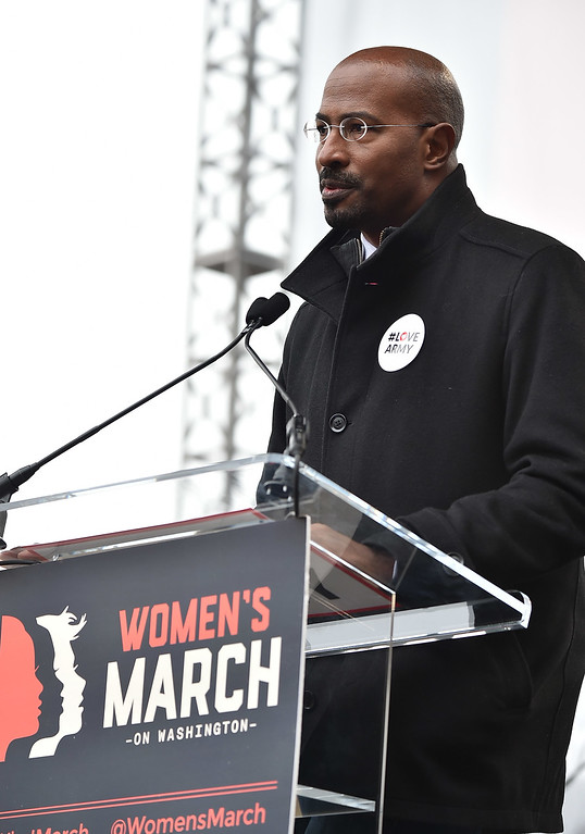 . WASHINGTON, DC - JANUARY 21:  Van Jones attends the Women\'s March on Washington on January 21, 2017 in Washington, DC.  (Photo by Theo Wargo/Getty Images)