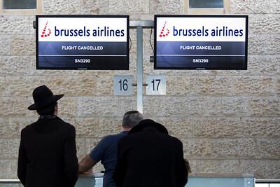 Mideast Israel Belgium Airport Security