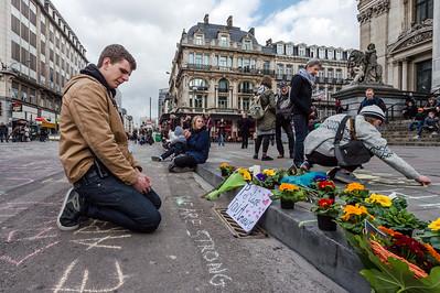 APTOPIX Belgium Attacks