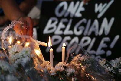 APTOPIX Philippines Belgium Attacks