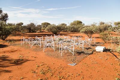 A 'tile' belonging to the Murchison Widefield Array (MWA) radio telescope.