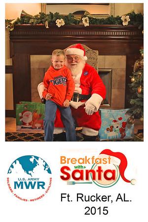 MWR Breafast with Santa 2015