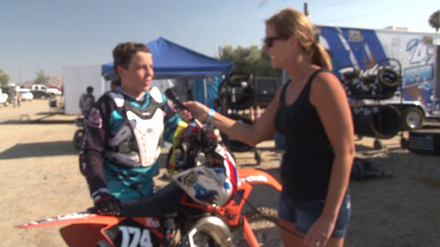Cash Swank- Moto #1 - Winner 85cc-150Fcc - #3 2011 Hot Summer Nights - Perris Raceway