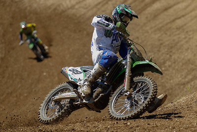 Max Anstie was the new leader