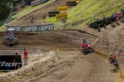 Anstie takes the lead from Gajser, Guillod follows