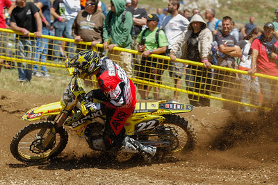 Strijbos on the gas