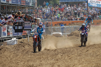 Simpson leads before Febvre and Paulin