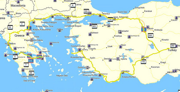 Grecia - Turquia 2010