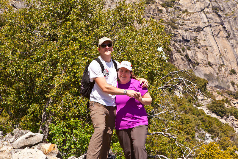 Liz and Will<br /> Hetch Hetchy