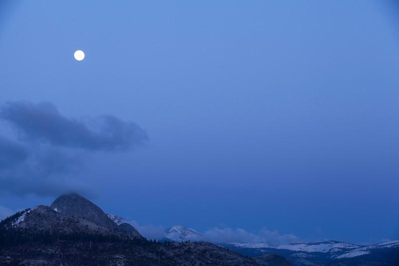 Full Moon Sentinel Dome Hike