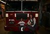 NEW YORK-LADDER 10 TRUCK AT THE WORLD TRADE CENTER-MY DAUGHTER JESIKA & GRANDSON LUCAS