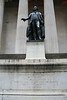 NEW YORK-FEDERAL HALL WHERE GEORGE WASHINGTON TOOK OATH OF OFFIC