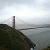 A VIEW OF THE GOLDEN GATE BRIDGE & SAN FRANCISCO BAY FROM MARIN COUNTY.